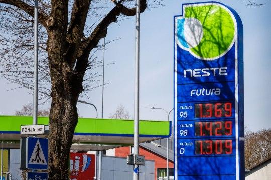 Bensiini hind kerkis viie ja poole aasta rekordtasemele