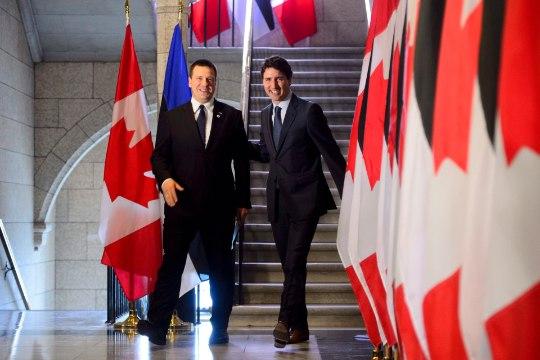 Kanada ajaleht: Ratas ei tühista lepingut Putini parteiga
