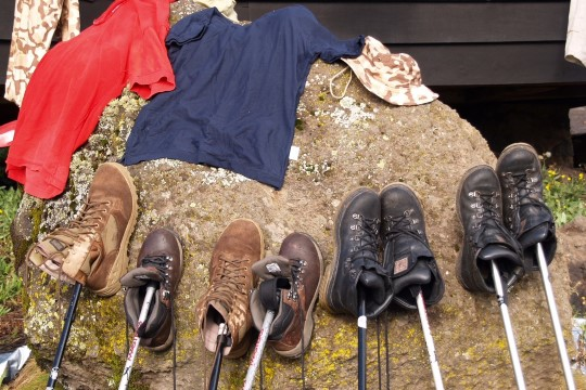 ANDRES JA KÄRT ANVELT: kui Kilimanjarolt alla tulime, pudenesid sokki jalast võttes varbaküüned küljest