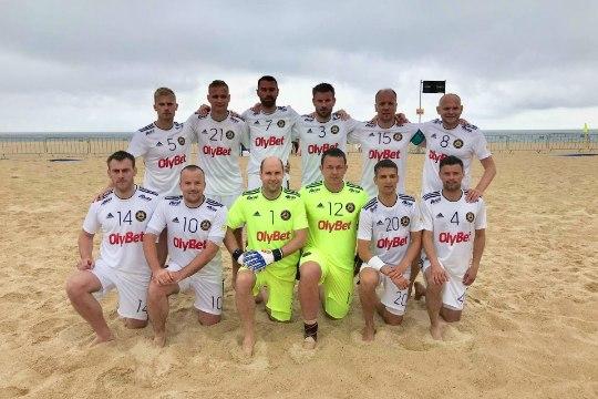 HEA TÖÖ! Nõmme BSC Olybet tegi Eesti rannajalgpalli ajalugu