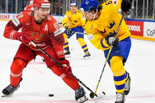 GALERII ja VIDEO | Rootsi alustas MMi võimsa võiduga, Taani tegi suurele naabrile säru