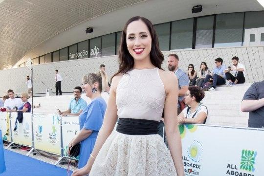 ÕL VIDEO JA SUUR GALERII | Elina Nechayeva Eurovisioni sinisel vaibal: kõige naljakam küsimus oli, et kes on mu lemmik animetegelane