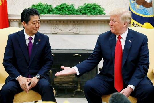 Trumpi huumor: saadame Mehhiko migrandid Jaapanisse
