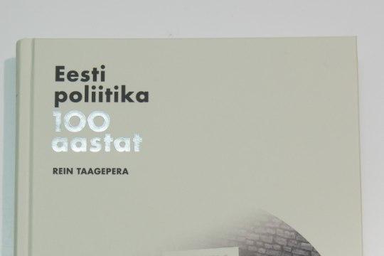 Raamat nagu autor: Rein Taagepera pani Eesti ajaloole juurde oma mõtted