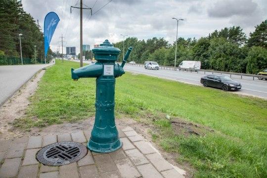 Tallinn sai uue avaliku joogiveekraani