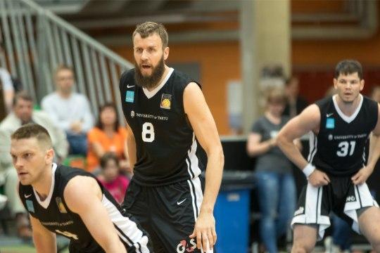 Tartu Ülikooli korvpallijuht: oleme arvestanud, et võime Taltsist, Kitsingust, Sokust ja Venest ilma jääda