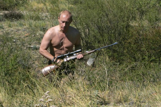 Putin intrigeerivatest fotodest: kui olen puhkusel, ei näe ma vajadust end põõsaste taha peita