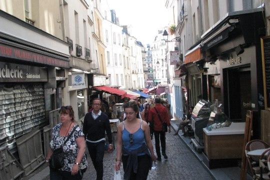 Astudes turistilõksudest kõrvale – Mouffetardi tänav Pariisis
