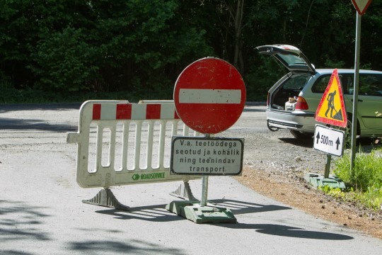 Teetööd toovad neljapäeval liiklusesse piiranguid