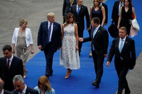 FOTOD | VANAD SÕBRAD? Jüri Ratas vestles NATO tippkohtumisel pikalt Donald Trumpiga