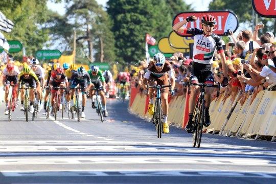 Tour de France'i kuuenda etapi võit läks Iirimaale