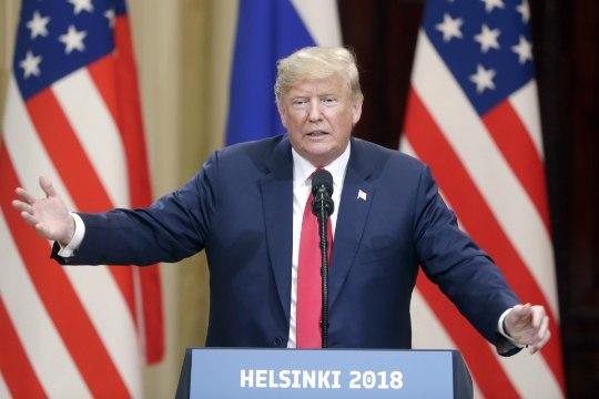 Трампа обвинили в государственной измене после встречи с Путиным