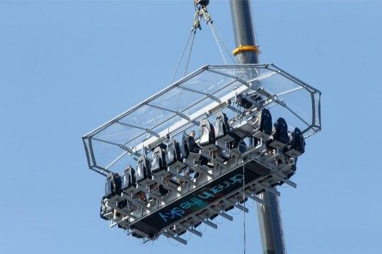 ÕL VIDEO JA GALERII   Kuidas maitseb toit 50 meetri kõrgusel?