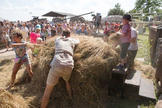 GALERII | Viljandi folk avati korraliku heinasõja ja tantsuga
