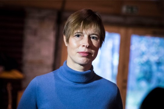 President Kaljulaid: aitäh, Mati Talvik, et aitasid Eestit lahti rääkida