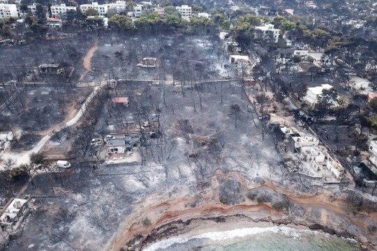 91 HUKKUNUT: Kreeka tuleohvrite arv kasvab