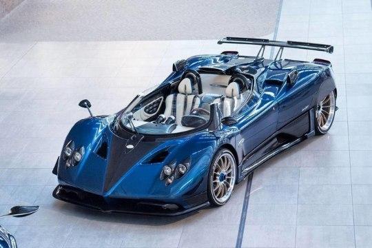 Pagani Zonda võttis Rolls-Royce'ilt maailma kõige kallima uue auto tiitli