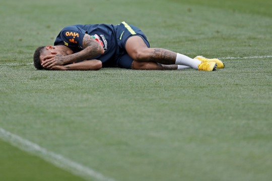 Tule taevas appi! Selgus, mitu minutit on Neymar Venemaa jalgpallimurul püherdanud
