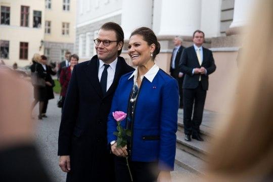 Rootsi kroonprintsess Victoria ja prints Daniel osalevad EV100 Üheslaulmisel