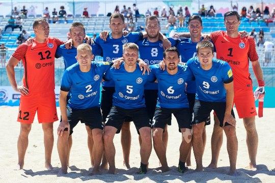 JÄRELVAADATAV | Eesti rannajalgpallikoondis jäi Euroliiga superfinaalist välja