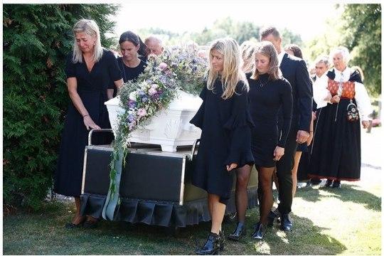 Norra tuntumad suusatajad saatsid legendaarse kaasvõitleja viimsele teekonnale