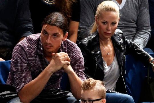 Julge nalja teinud Zlatan Ibrahimovic sai naise käest riielda