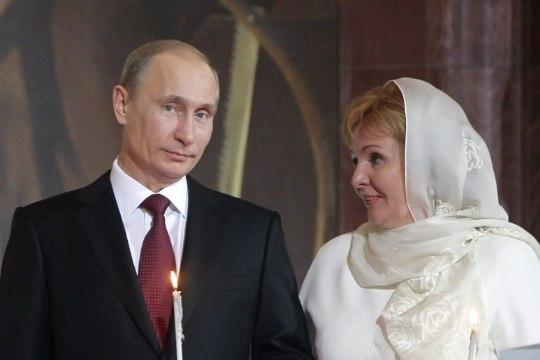 Арестована недвижимость бывшей супруги Владимира Путина