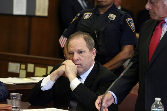 Saksa näitlejanna kaebas Weinsteini vägistamise eest kohtusse