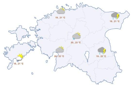 Suvi kestab veel: lähipäevil tuleb üle 25 kraadi sooja