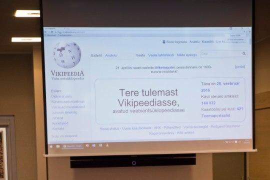 Vikipeedia koostamine on meie kõigi ühine ettevõtmine
