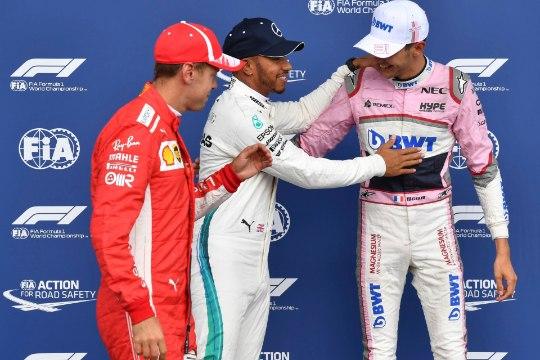 Belgia GP vihmane kvalifikatsioon pakkus hulga üllatusi