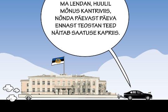 Juhtkiri | President Kaljulaidist jõuti ette