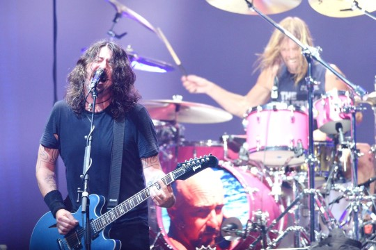 Foo Fightersi Dave Grohl salvestas 23minutilise pala