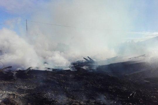 Viru-Kabala ja Uljaste vahel põleb maastik, liiklus ühel suunal suletud