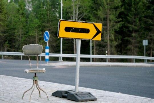 Geoloogiliste uuringute tõttu on mõnel pool liiklus piiratud
