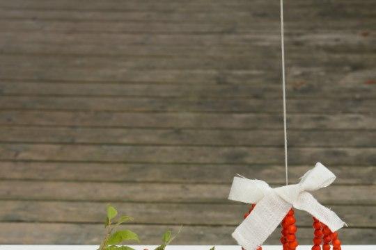 TAAS PUNETAVAD PIHLAPUUD: meisterda lauapärg või aknakaunistus!