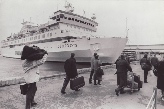 """Kapten Ülo Kollo: """"Küllap saadi Georg Otsast kõvasti manti heade naelte või nõelte näol. Selle laeva kere oli ju tugev."""""""