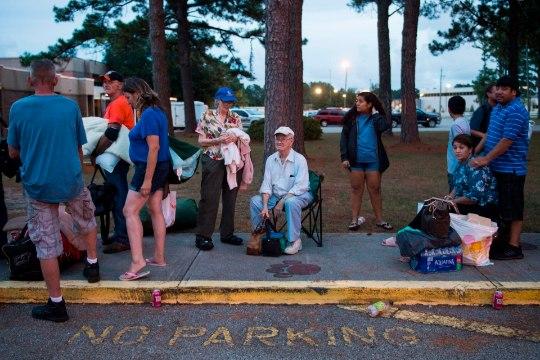 Põhja-Carolina kuberner: orkaan Florence on koletis