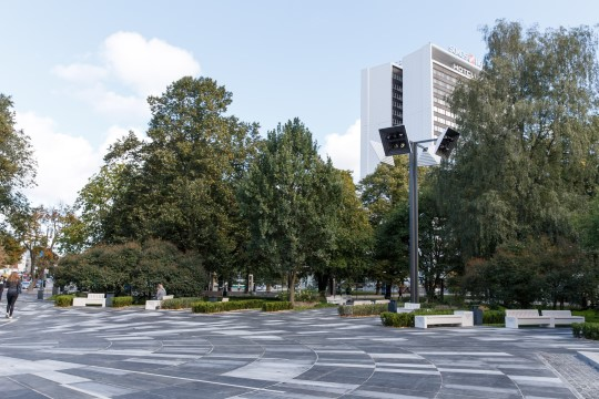 Галерея: смотрите, как выглядит обновленный парк Таммсааре