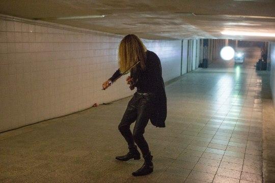 GALERII | Kristjan Kannukene esitles Balti jaama tunnelis oma uut albumit