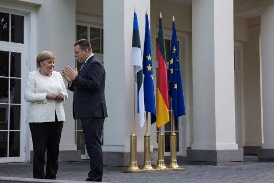 FOTOUUDIS | Peaminister Ratas kohtus liidukantsler Merkeliga