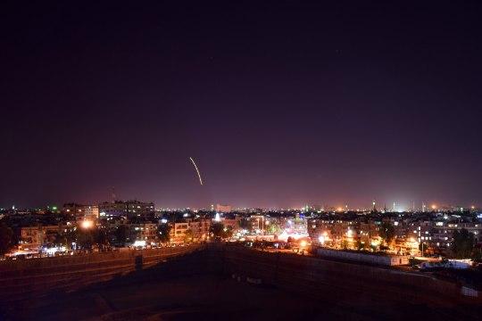 Iisraeli raketid tabasid Damaskuse lennujaama