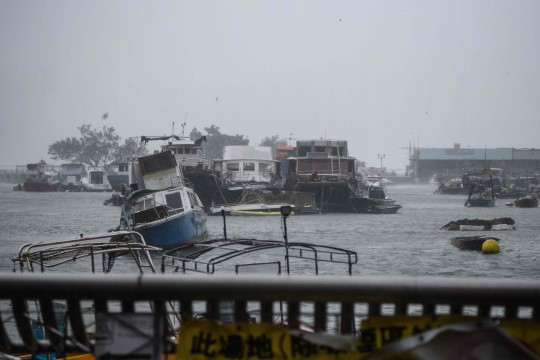 FOTOD | Taifuun Mangkhut on Filipiinidel tapnud 49 inimest