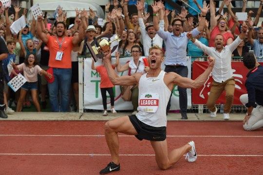 Kui kõva on MR-mees Kevin Mayer? Ta võtnuks üksikalade Eesti meistrivõistlustelt seitse medalit!