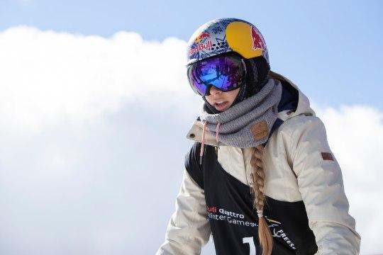 Juunioride MM: Kelly Sildaru pääses rennisõidus parima tulemusega finaali