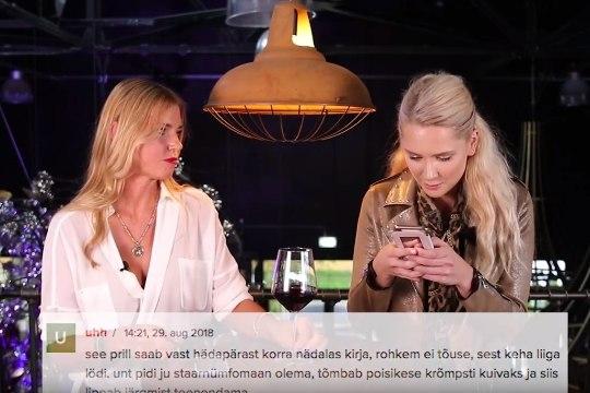 TV3 VIDEO | Brigitte Susanne Hunt ja Anu Saagim loevad õelaid kommentaare: neid kirjutavad ilmselt maakad