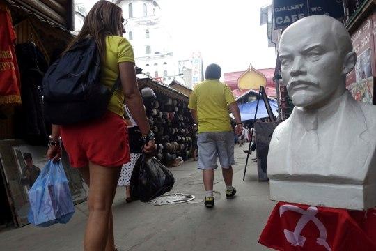Гитлер и Ленин стали соперниками на выборах