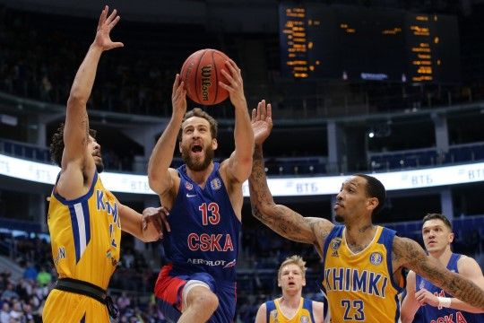 Kired Venemaa korvpallis - CSKA ei kutsunud Himkit hooajaeelsele turniirile. Kardavad kaotada?