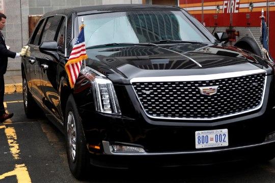 President Trumpi uus limusiin: üheksatonnine liikuv kindlus