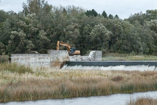 Sindi paisu lammutamine avab kaladele kogu Pärnu jõestiku